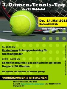 3. Damen Tennis Tag 2015