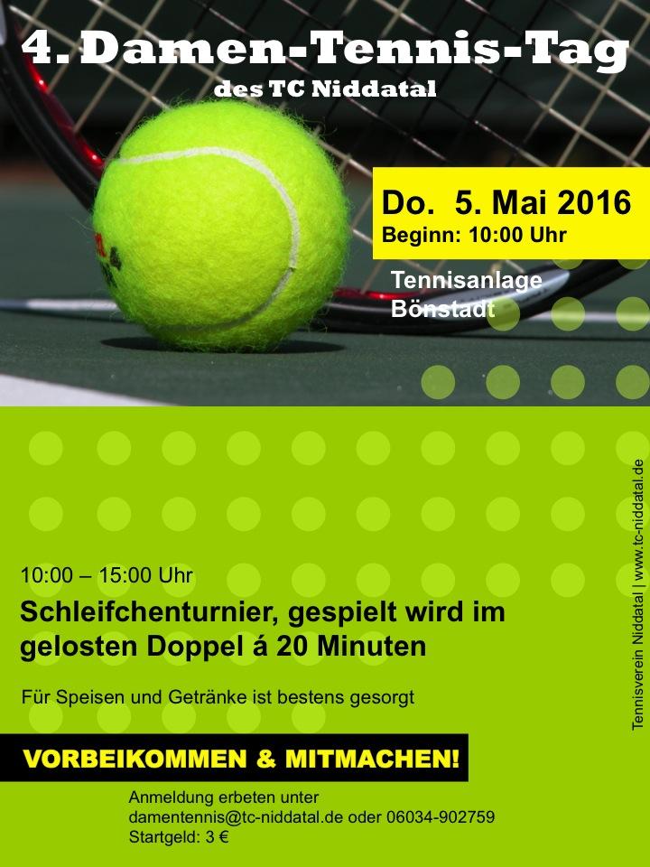 Damen-Tennis-Tag 2016