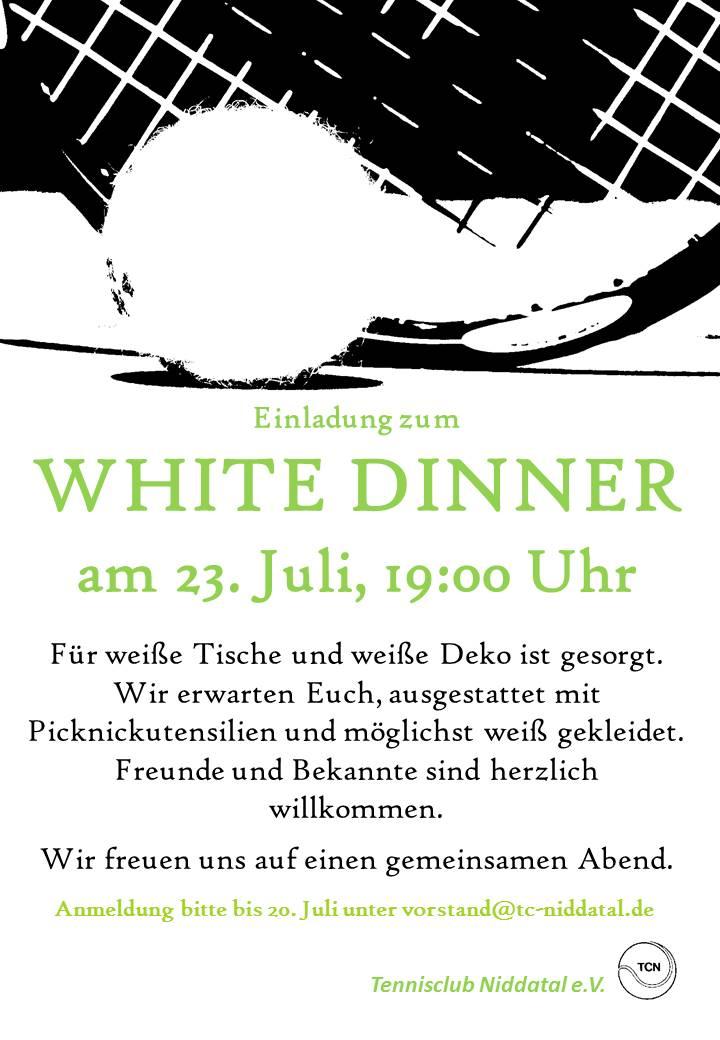 TCN White Dinner